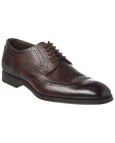 BOSS Hugo Boss T-Leonard Leather Wingtip Oxford