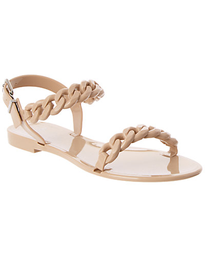 Givenchy Chain-Link Jelly Sandal