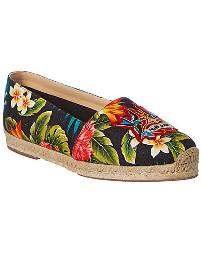 Christian Louboutin Mom & Dad Canvas Flat