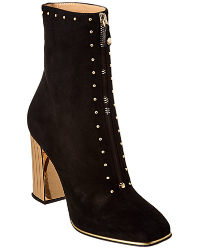 Charlotte Olympia Diane Suede Bootie