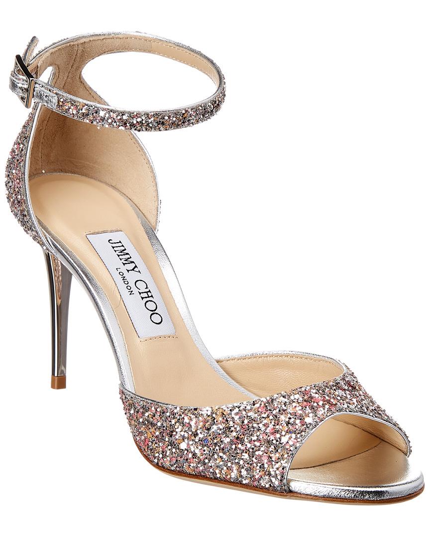 65983fcb856 Jimmy Choo Annie 85 Glitter Sandal