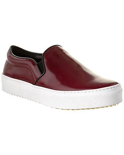 CÉLINE Leather Slip-On Sneaker