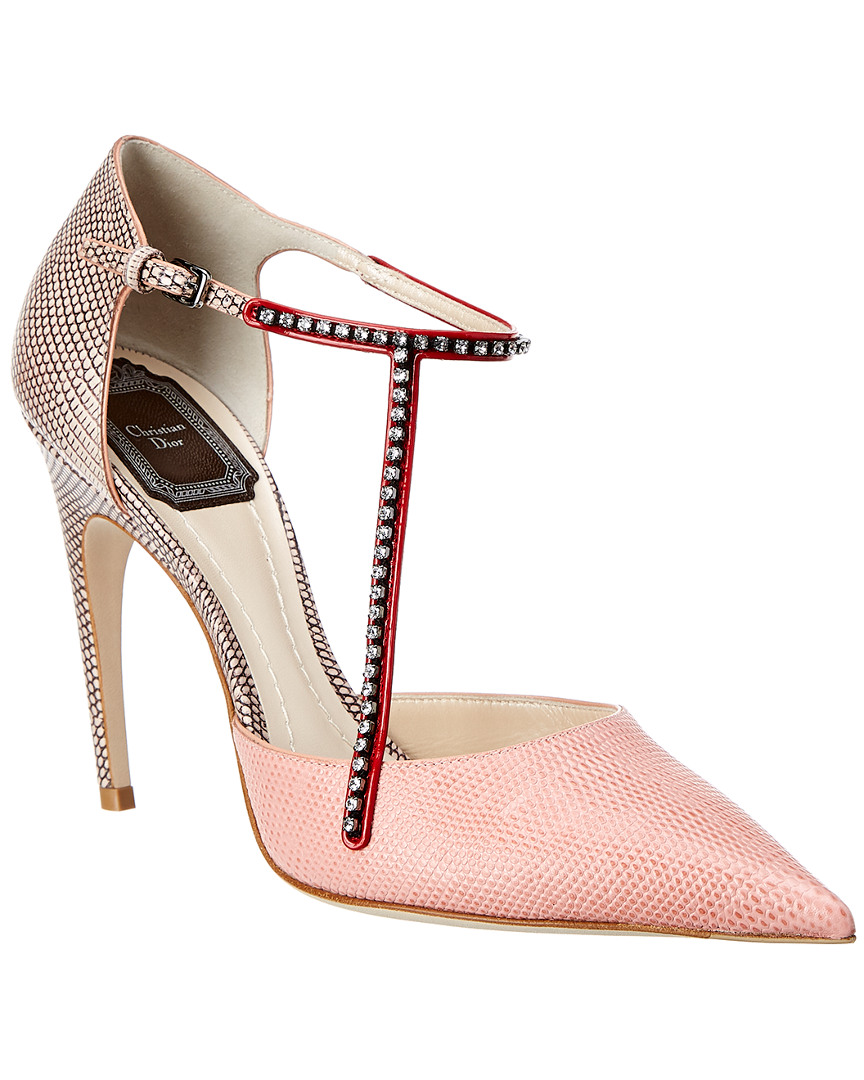 MARY JANE LEATHER PUMP