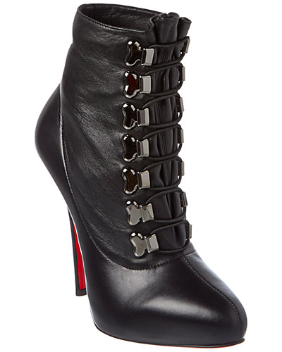 Christian Louboutin Troopista 120 Leather Bootie