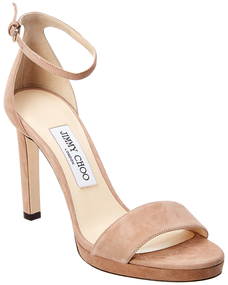 bc9f880d887 Jimmy Choo Misty 100 Suede Sandal