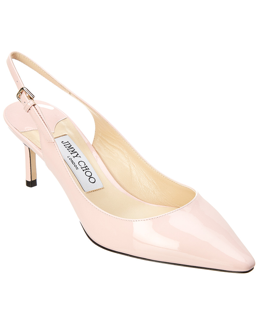 49699aa6ed2 Jimmy Choo Women S Erin 60 Patent Leather Slingback Pumps In Pink ...