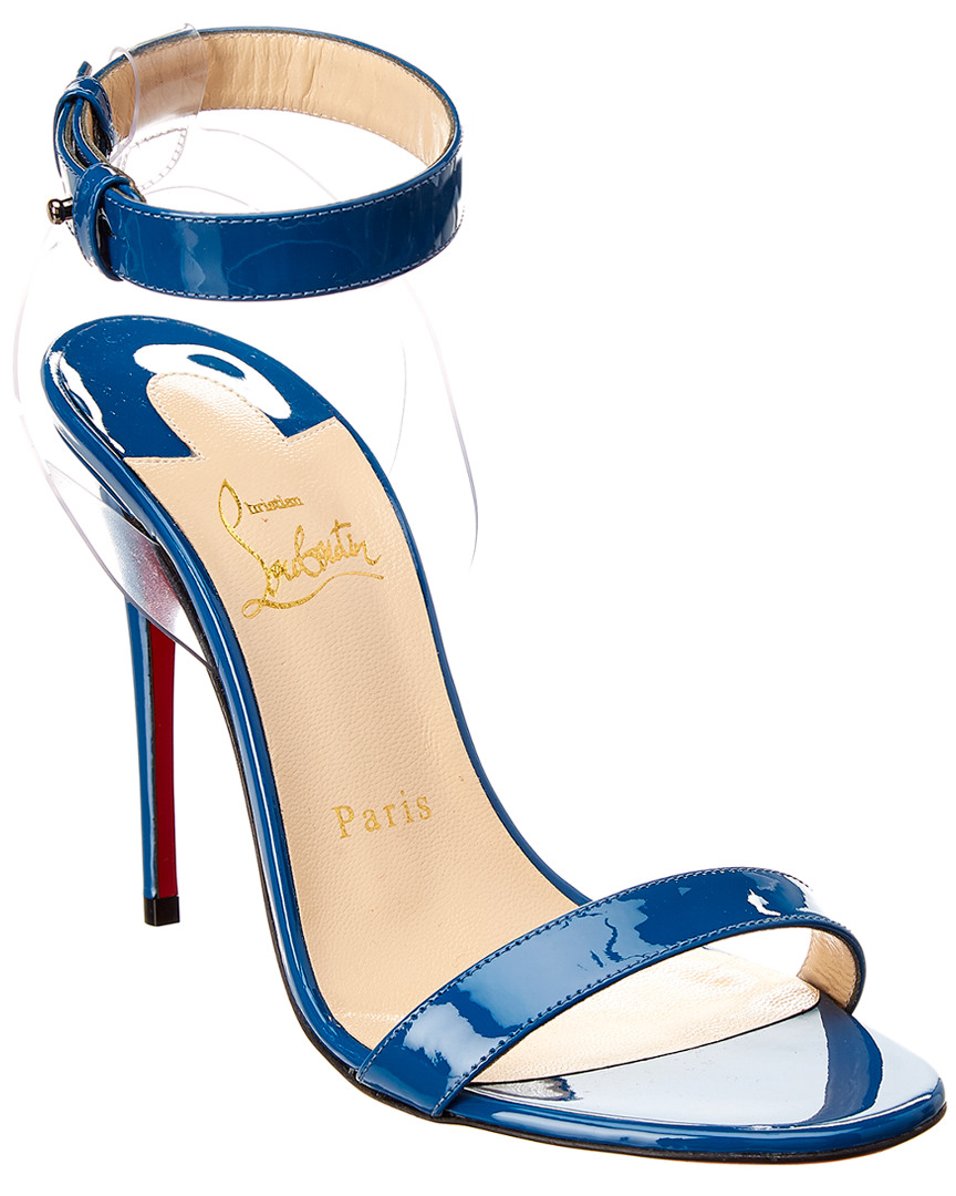 42ba4fe08a6 Christian Louboutin Jonatina 100 Patent Sandal