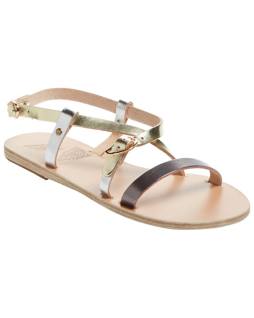 084a687c942 Image is loading Ancient-Greek-Sandals-Sofia-Metallic-Leather-Sandal-37