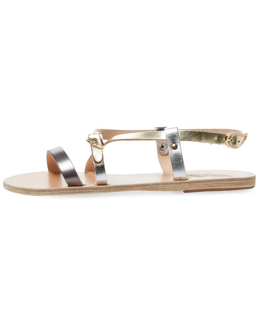 65c43537520 Ancient-Greek-Sandals-Sofia-Metallic-Leather-Sandal-37