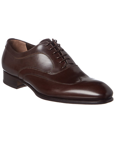 Caporicci Leather Lace-Up Oxford