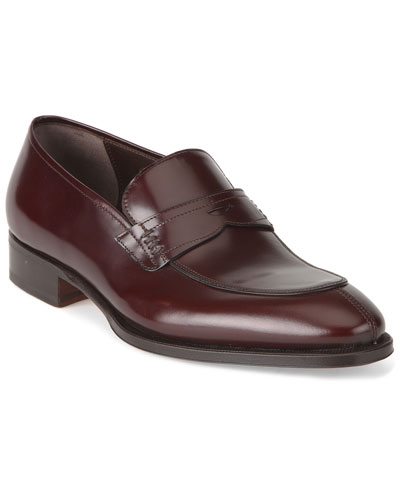 Caporicci Diamante Leather Penny Loafer