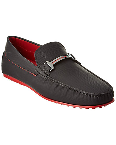 TOD's for Ferrari Leather Loafer