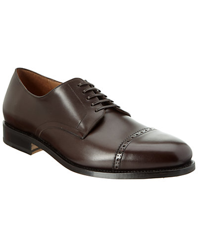 Salvatore Ferragamo Nordland Leather Derby Shoe
