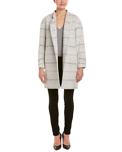 Rebecca Taylor Icicle Cocoon Coat