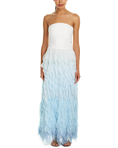 Calypso St. Barth Janli Silk-Blend Maxi Dress