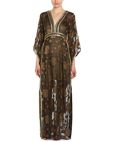 Calypso St. Barth Rusalka Silk-Blend Maxi Dress