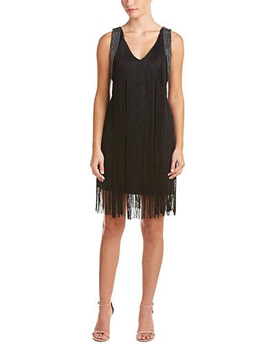 Haute Hippie Silk-Blend Fringe Frapper Dress