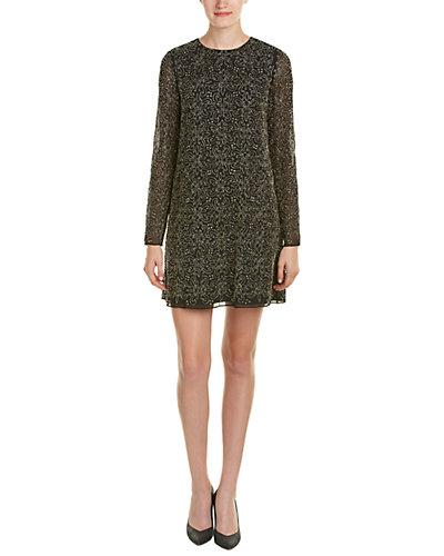 alice + olivia Marcia Embellished Shift Dress