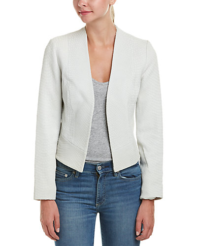 Joie Sitra Embossed Leather Jacket