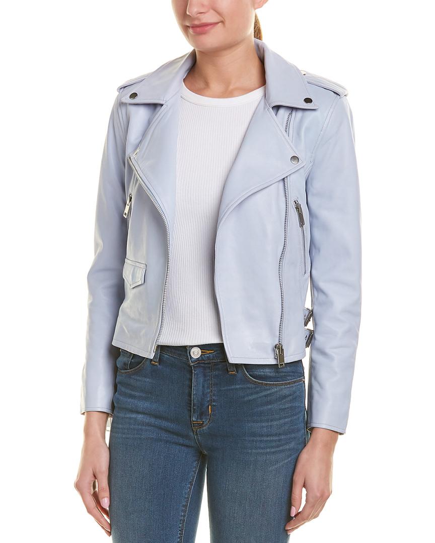 8e5412351401f Details about Walter Baker Liz Leather Jacket