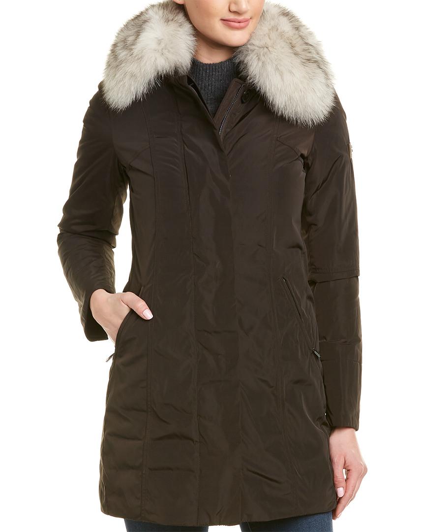 super popular 435fd ad5f7 Details about Peuterey Metropolitan Gb Down Coat Black Women's