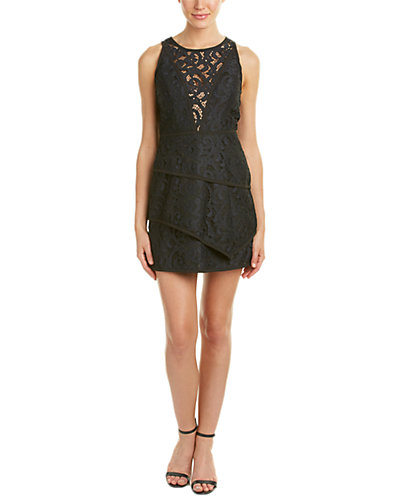 BCBGMAXAZRIA Hanah Scroll Lace Dress