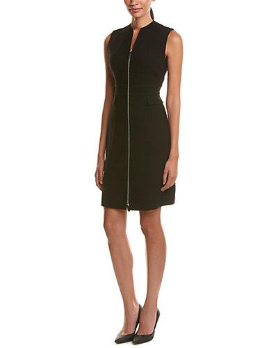 Lafayette 148 New York Carlina Wool Shift Dress