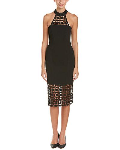 NICHOLAS Lace-Trim Sheath Dress