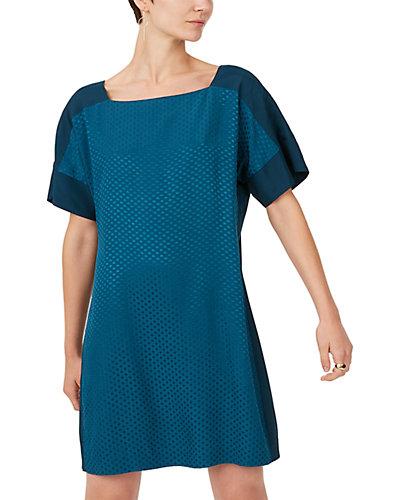Rue La La — Club Monaco Square Neck Archmand Mini Dress