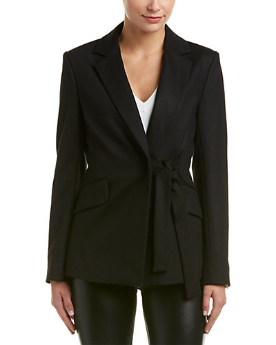 Theory Nibel.Jersey Flannel Wool-Blend Jacket