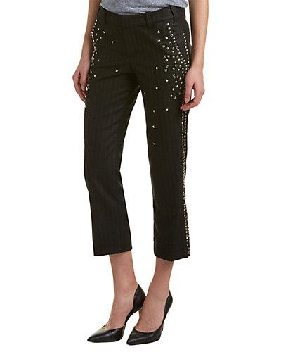 Zadig & Voltaire Posh Clou Defile Fashion Show Wool-Blend Trouser