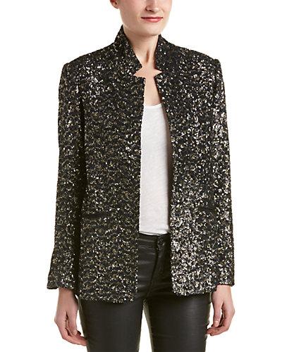 Zadig & Voltaire Volly Sequin Deluxe Silk-Blend Jacket