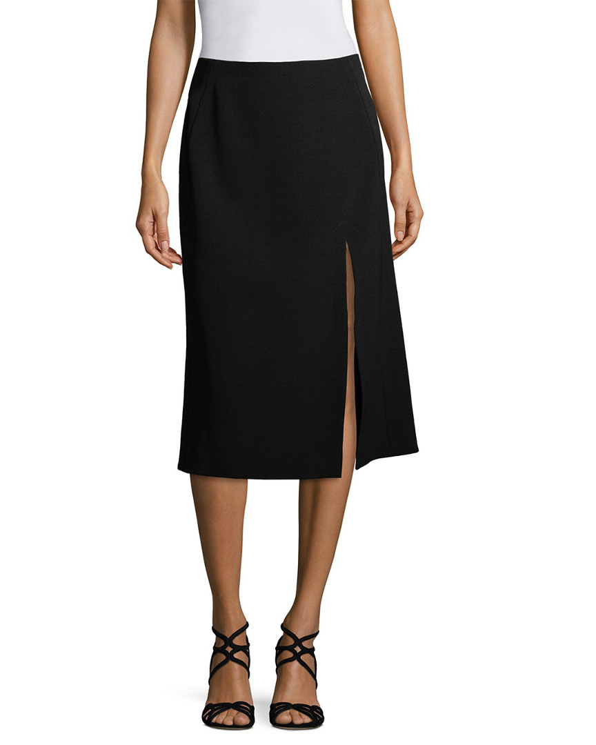 Narciso Rodriguez Wool Skirt With Slit 14111912080000