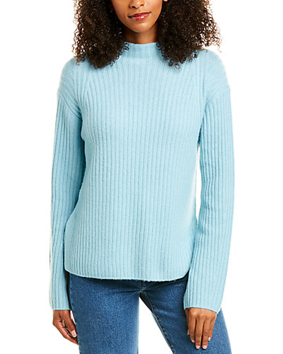 Rue La La — Vince Ribbed Raglan Wool & Cashmere-Blend Pullover