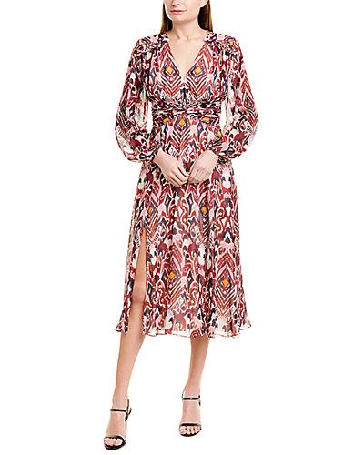 Rue La La — PRABAL GURUNG Audra Silk A-Line Dress