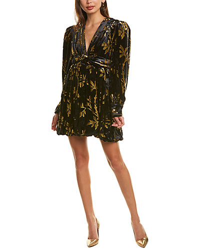 Rue La La — Dodo Bar Or Anatalya Silk-Blend Mini Dress