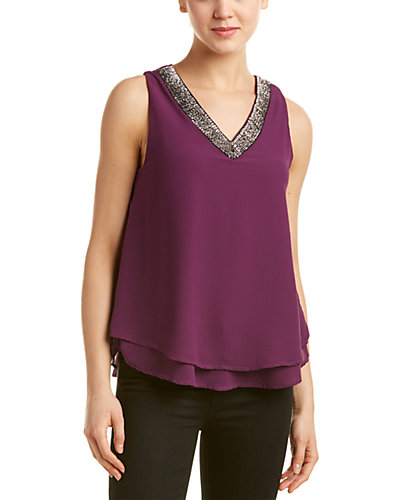 Romeo & Juliet Couture Embellished Blouse