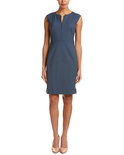 Lafayette 148 New York Zelina Wool-Blend Sheath Dress