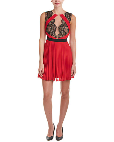 BCBGMAXAZRIA Arianne Pleated Dress