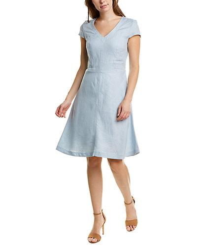 Rue La La — Brooks Brothers Cap Sleeve A-Line Dress