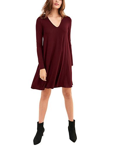 Rue La La — LA Made V-Neck Mini Dress