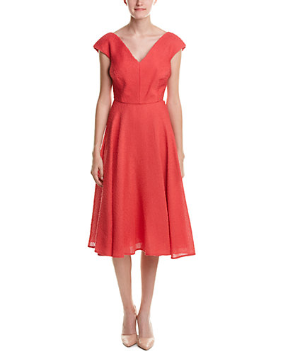 ESCADA Silk-Blend A-Line Dress