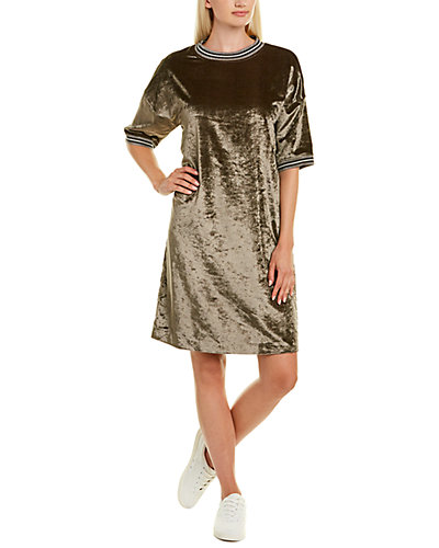 Rue La La — Brunello Cucinelli Velvet Shift Dress