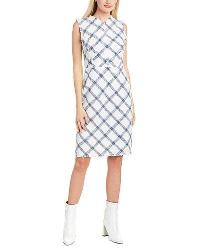 Rue La La — Rebecca Taylor Plaid Tweed Mini Dress