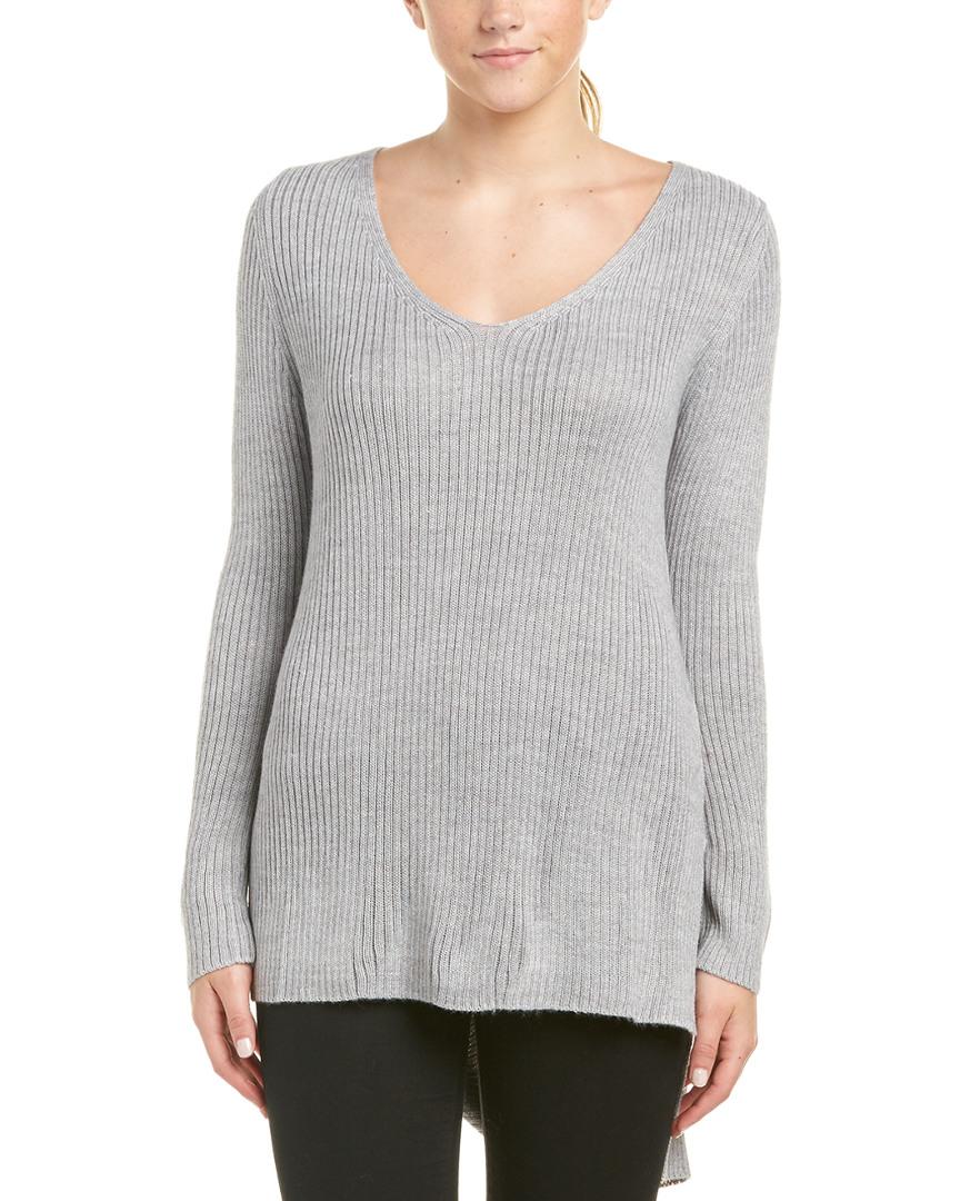 Minkpink Wool-Blend Ribbed Sweater 14113821570001