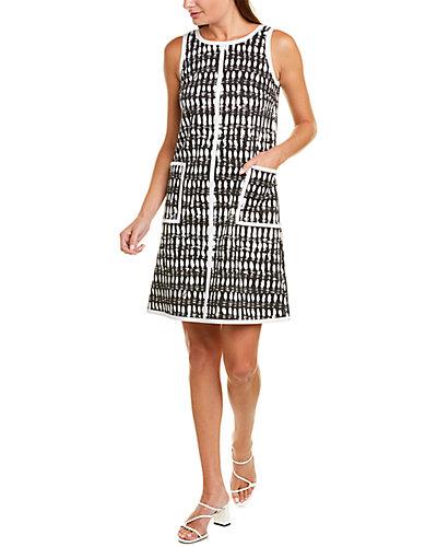 Rue La La — Leggiadro Printed Shift Dress