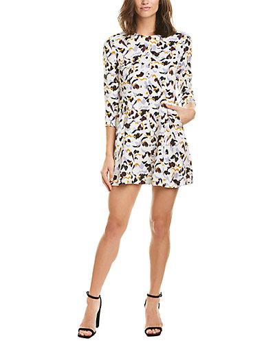 Rue La La — A.L.C. Terry Silk A-Line Dress