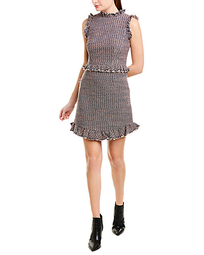 Rue La La — Rebecca Taylor Tweed Sheath Dress