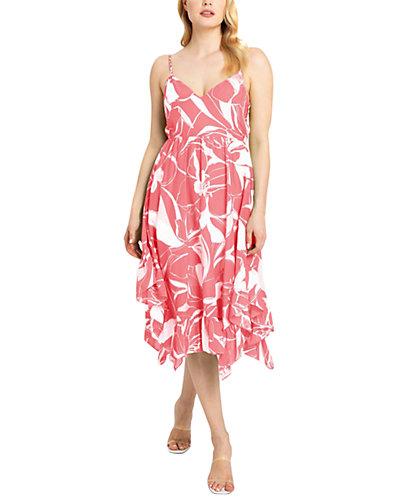 Rue La La — Milly Britney Silk-Blend Dress