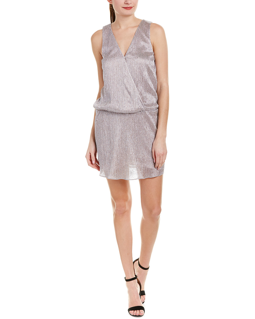 Parker SURPLICE DROP WAIST DRESS